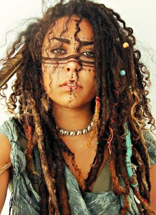 Bohemian | Hippie | Boho | Tribal | Natural :: #dreadstop
