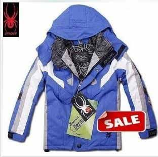 Spyder Kids Ski Wear Royal Blue White