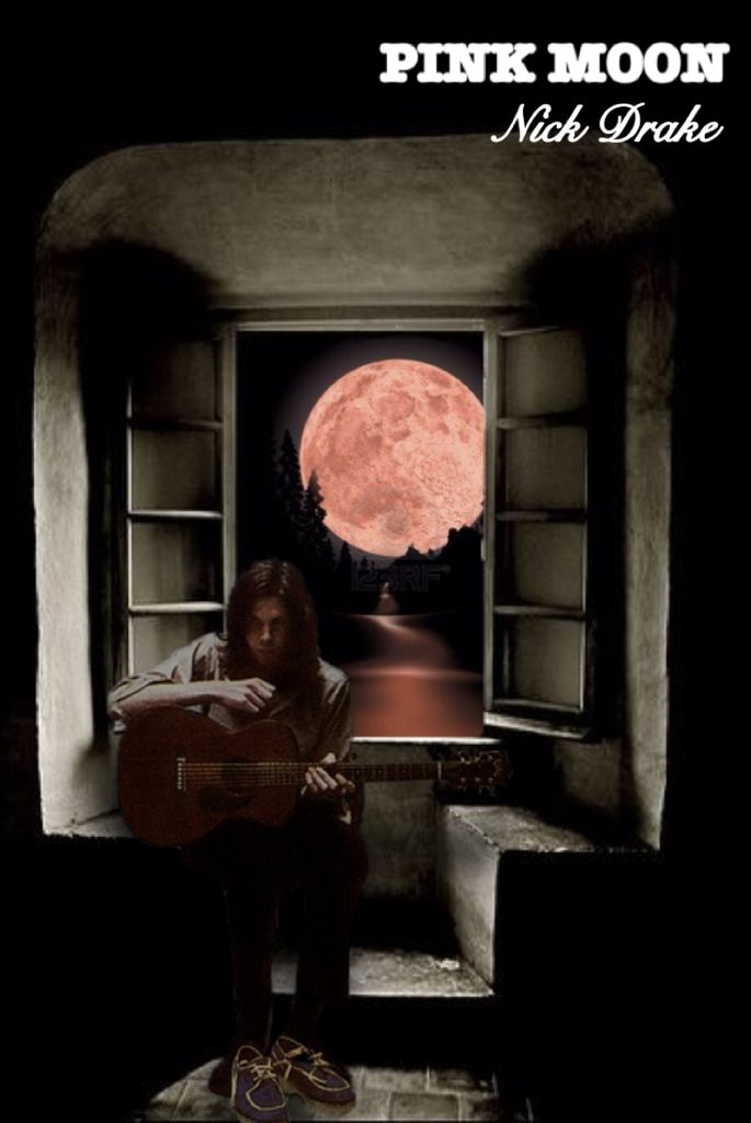 Nick Drake / Pink Moon, Artwork #Acid Alarm Clock
