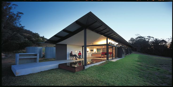 Glenn Murcutt - Walsh House - Kangaroo Valley, Australia - 2001-05