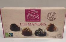Bombones Chocolate de Bélgica Les Manons de Belvas 100 gr.