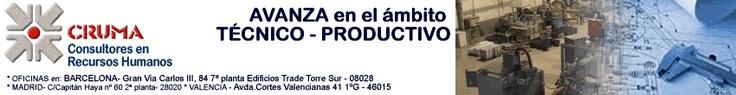 Oferta de EMPLEO para INGENIERO PROYECTISTA MECÁNICO para BAIX LLOBREGAT  CRUMA Consultores: Selección de Personal, Formación, Coaching y Estudios.