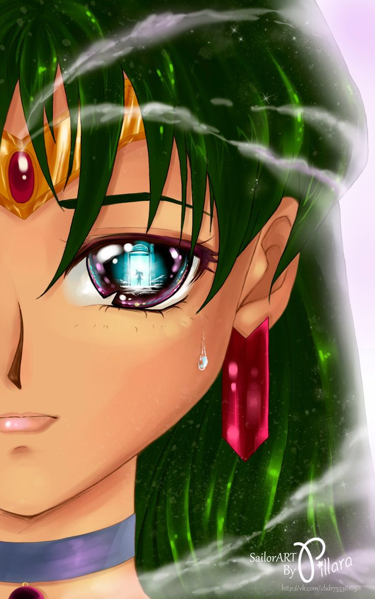 Sailor Pluton eye by Pillara.deviantart.com on @deviantART