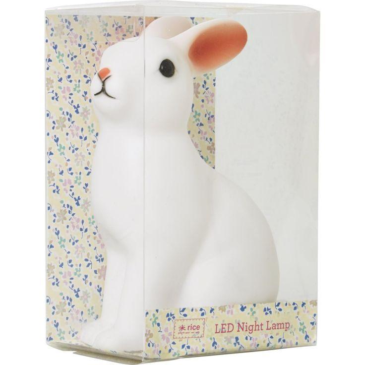 Rice / Dětské noční LED světýlko Rabbit