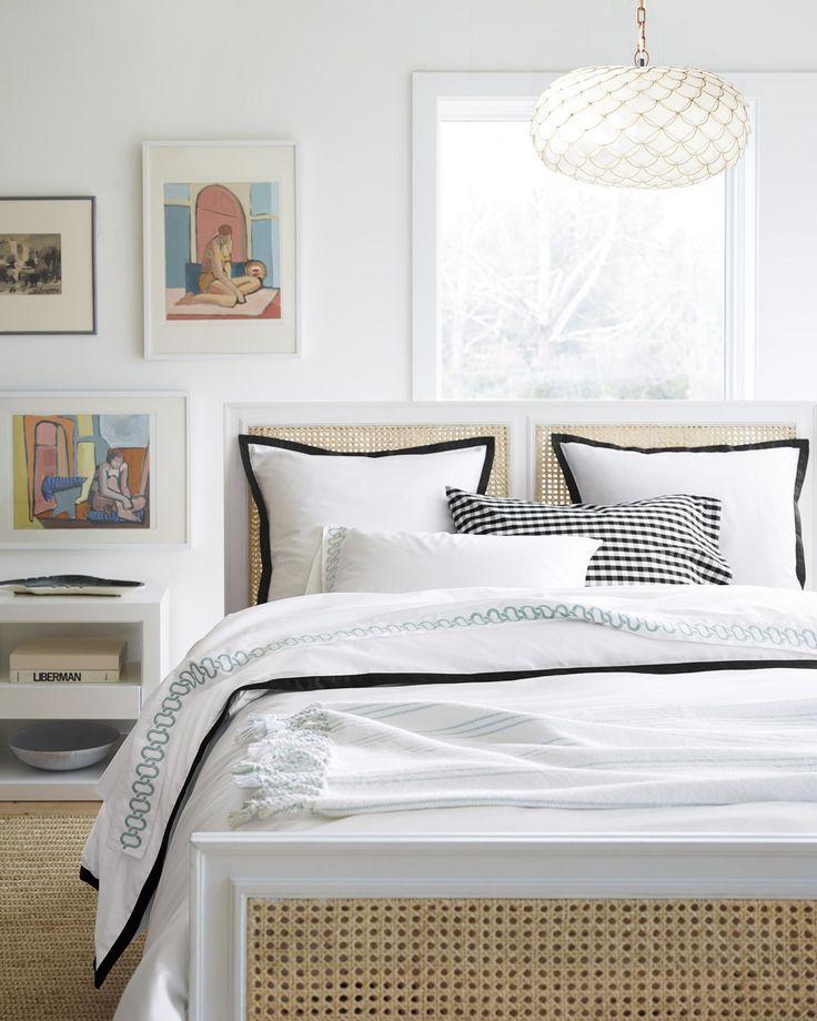 Beautiful Basics For A Beautiful Bed Border Frame Duvet Cover Sham Serenaandlily Master