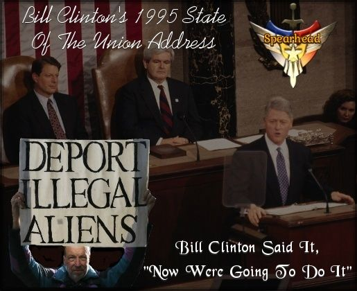 """""""ARTICLE"""" Lets Get The Immigration Debate Started, """"Our Spearhead Will Be Bill Clinton's Own Words"""" Click Link Here To Read Full Article >>>> http://teapartymainstreet.blogspot.com/2017/06/lets-get-immigration-debate-started-our.html"""