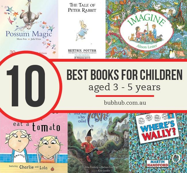 10 best books for children aged 3-5 years #parenting #reading #children #childrensbooks #books