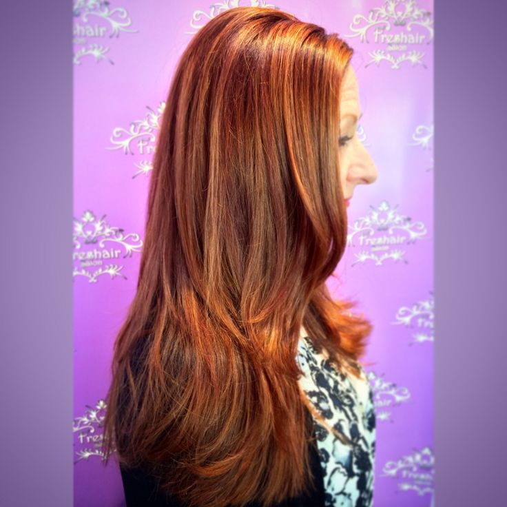 354 best freshairs finest cuts colors and extensions by our check out this gorgeous copper red color by mandy shelton redhead redhair pmusecretfo Choice Image
