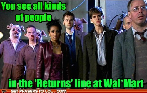 Pig people, Doctor, you know...: Doctorwho Walmart, The Doctor