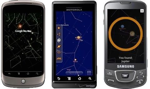 Google Sky Map boldly explores open source galaxy.    Since this is going open source I'm going to explore options for GC promo tool/app.