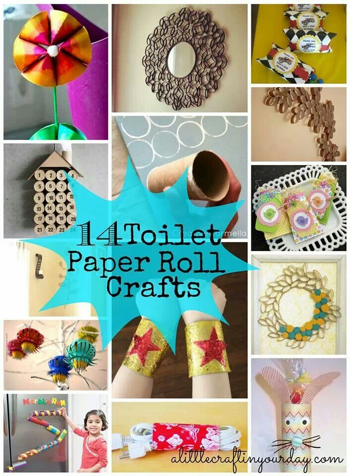 Toilet Roll Craft Christmas Cardboard Tubes