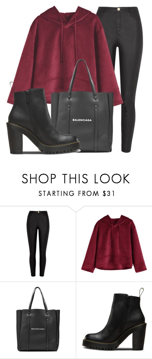 """Outfit #1874"" by lauraandrade98 on Polyvore featuring moda, River Island, Balenciaga y Magdalena"