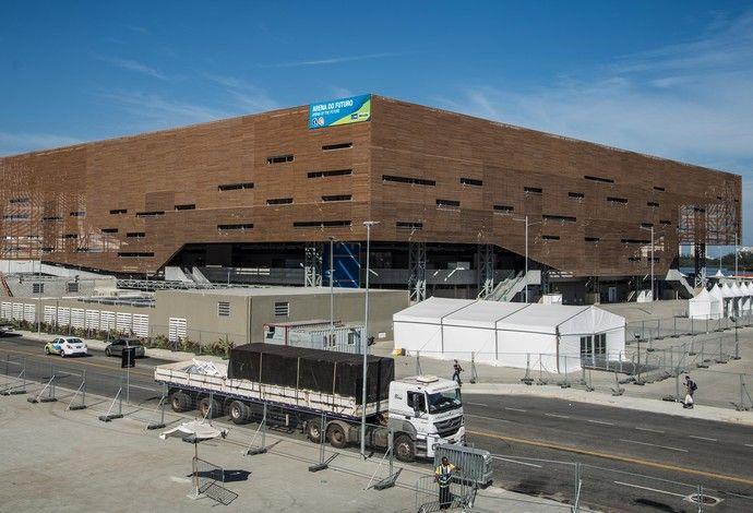 Arena do Futuro - Parque Olímpico Rio 2016 (Foto: Renato Sette Camara/Prefeitura do Rio)