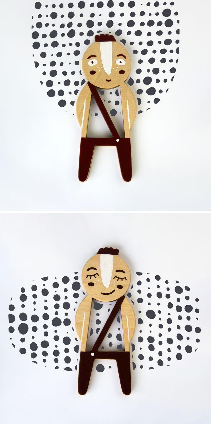 Niko. Telepapu wooden doll