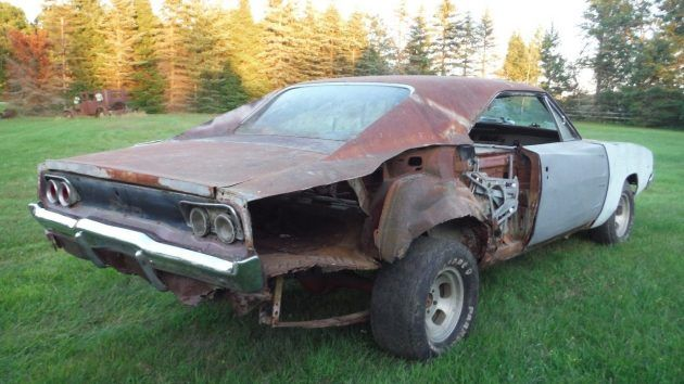 Calling Dr. Frankenstein! 1968 Dodge Charger Carcass #BarnFinds #Charger, #Dodge - https://barnfinds.com/calling-dr-frankenstein-1968-dodge-charger-carcass/