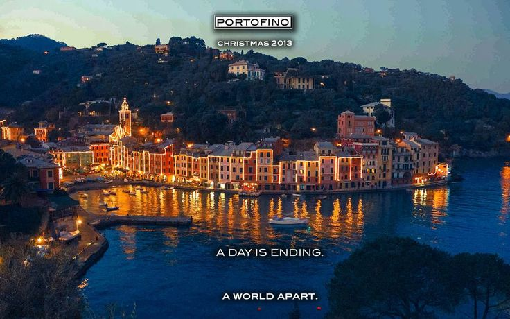Portofino Italy, A Day is Ending