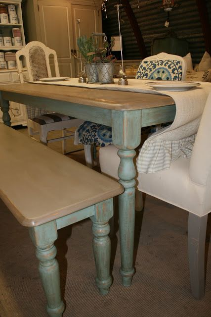 99 Best Images About Dining Tables & Chairs - Chalk Paint Ideas On