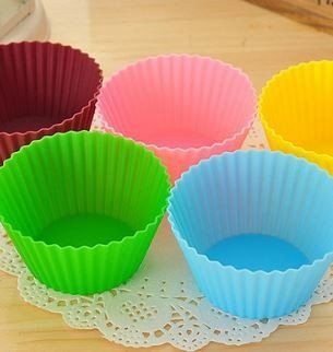 Colourworks Silicone Reusable Cupcake Cases 7cm 12 pc. Set
