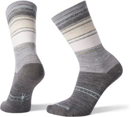 Smartwool Sulawesi Stripe Crew Socks – Women's | REI Co-op