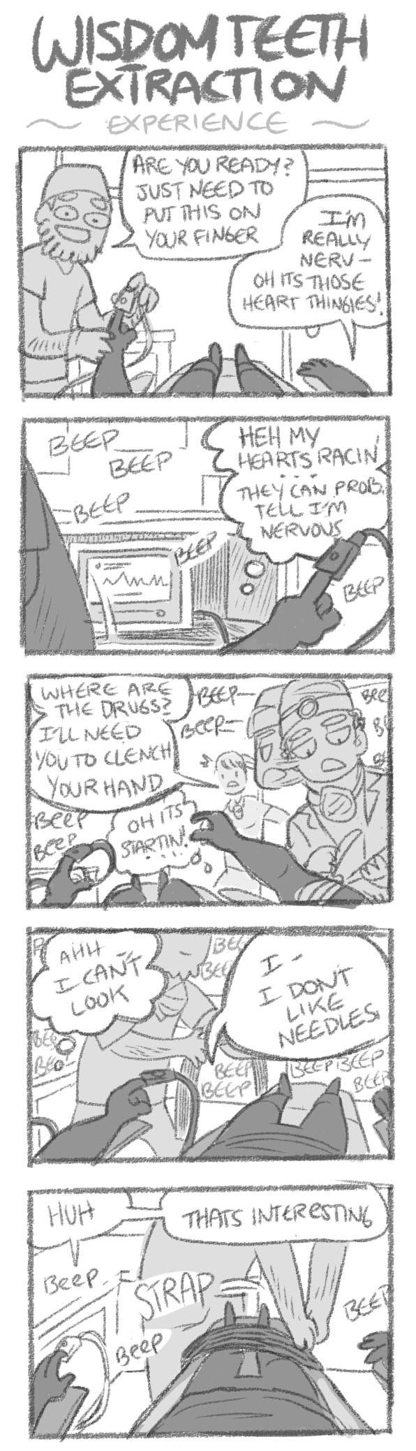 Mondo Mango :: Wisdom Teeth Extraction Experience | Tapastic Comics - image 1
