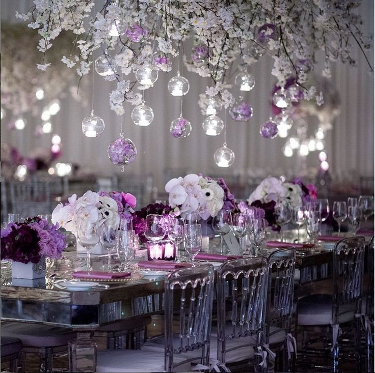 Lilac Silver And White Wedding Theme Unique Wedding Ideas