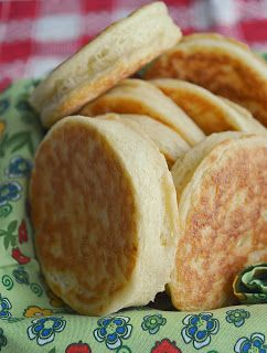 Gluten Free Gypsy: English Muffins - So far the best gluten free english muffins I have tried so far (this being recipe no. 5).  Very good flavour!!