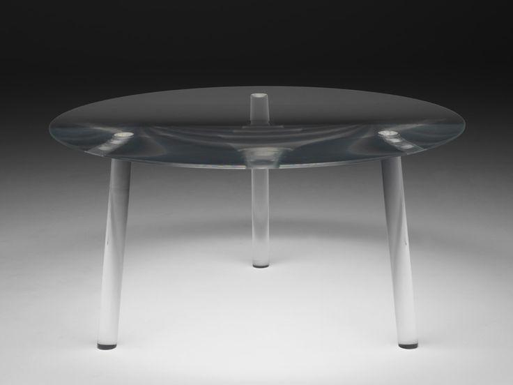 round plexiglass table drop table by living divani design junya ishigami