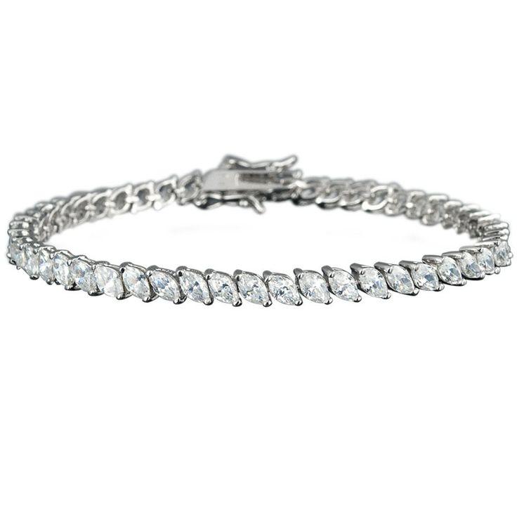 Marquis Tennis Bracelet