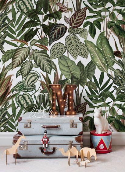 die besten 25 dschungel tapete ideen auf pinterest palme tapete dschungelschlafzimmer und. Black Bedroom Furniture Sets. Home Design Ideas
