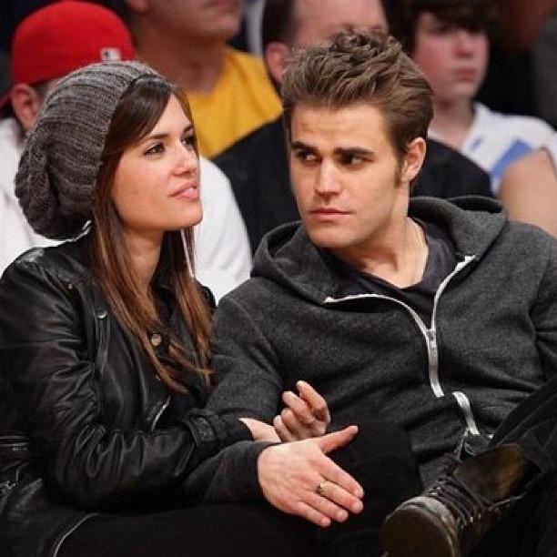 Paul Wesley & his wife Torrey DeVitto