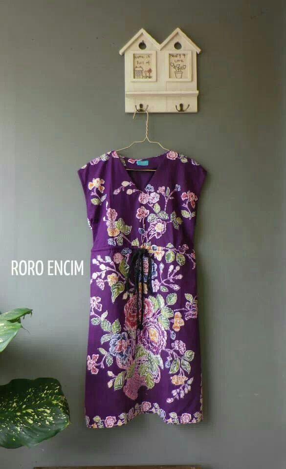 Simple batik shift