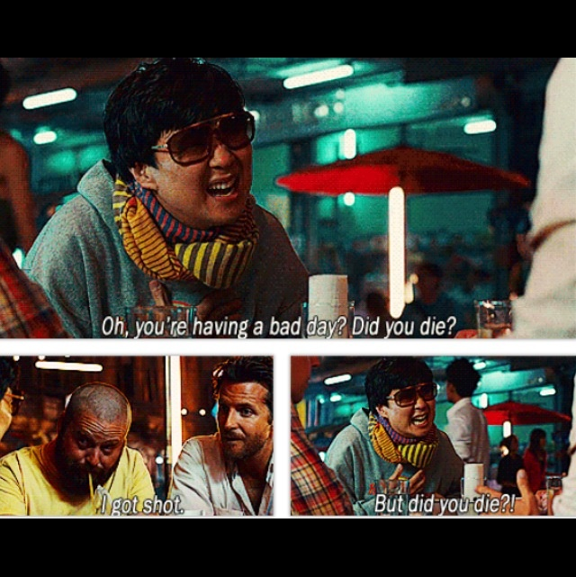 Hahaha Mr. Chow, Hangover 2