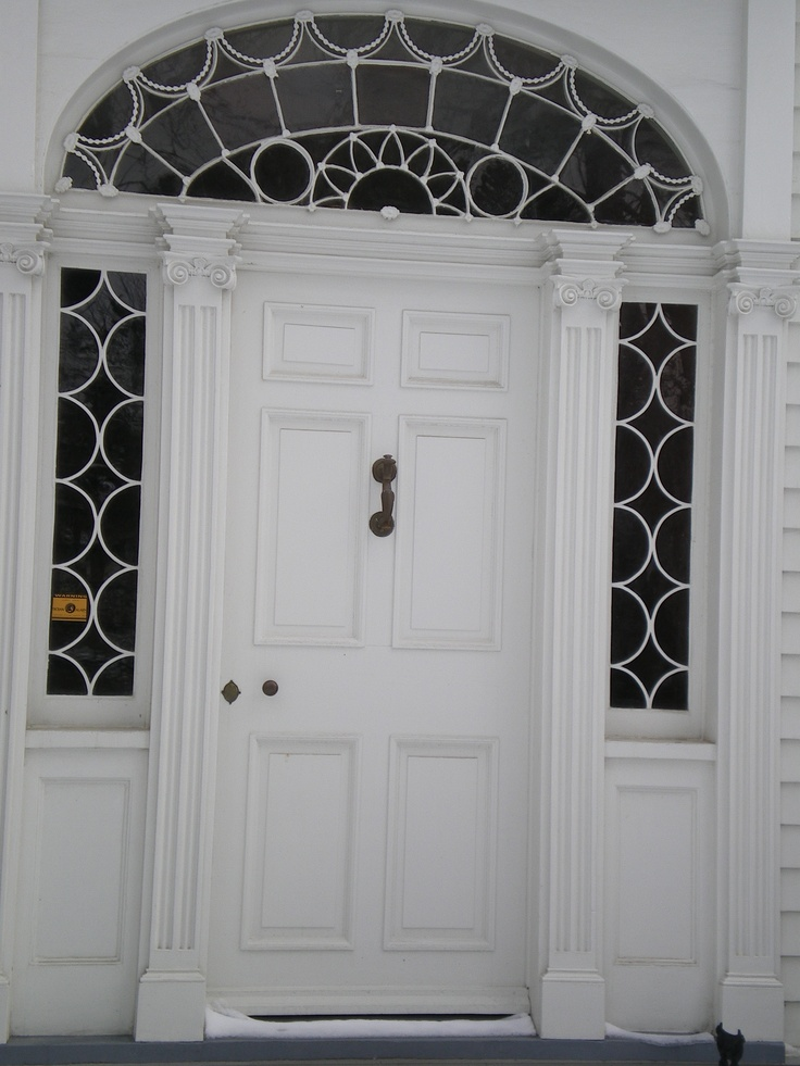 Front Door Fanlight Neoclassical Original 1816