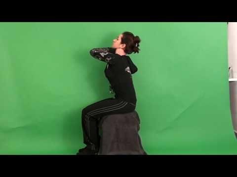 hoge wervelkolom: strekken - YouTube
