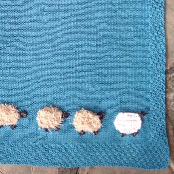 Novità, calda copertina in misto lana :)