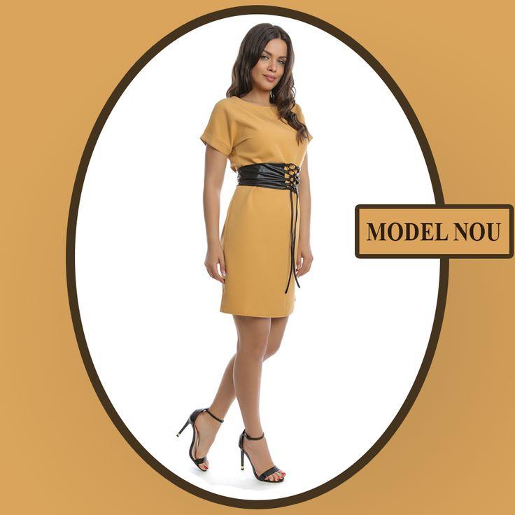 Cumpără en-gros pentru magazinul tău rochia 6269, care are în talie brâu detașabil cu șiret. Comandă online: http://www.adromcollection.ro/620-rochie-angro-6269.html