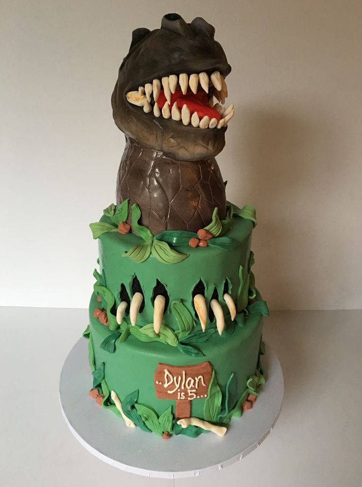 25 Best Ideas About T Rex Cake On Pinterest Dinosaur