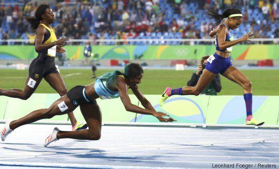 Jeux olympiques 2016: lincroyable plongeon de Shaunae Miller pour obtenir la médaille dor au 400m