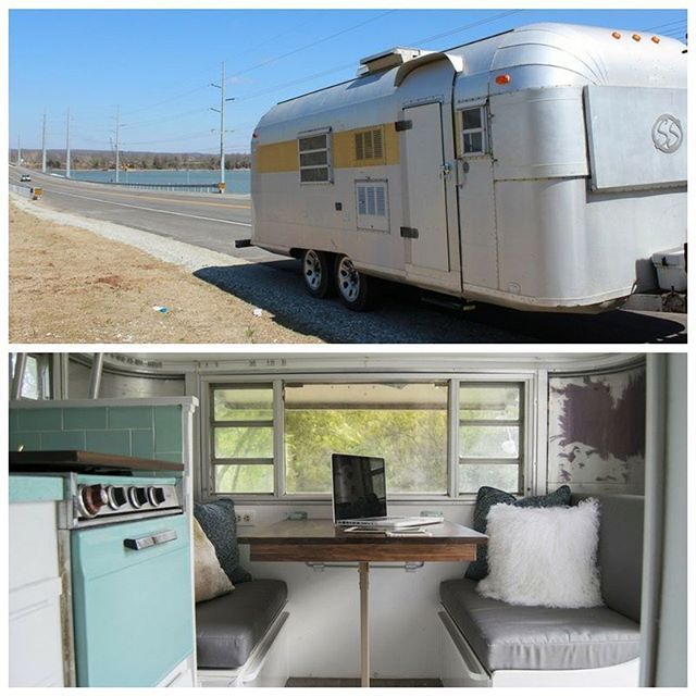 Retro trailer living! This 1967 Silver Streak Sabre trailer is currently available for sale in Oklahoma City. It sleeps up to three people and, yes, it has Formica countertops in the kitchen.  More info and photos are on the blog- link in profile!