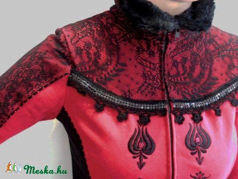 Hímzett kabátka, Ruha, divat, cipő, Női ruha, Meska