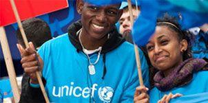 Get involved in UNICEF's work for children around the world.