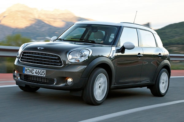 mini cooper countryman  I think I would have to see it in person...
