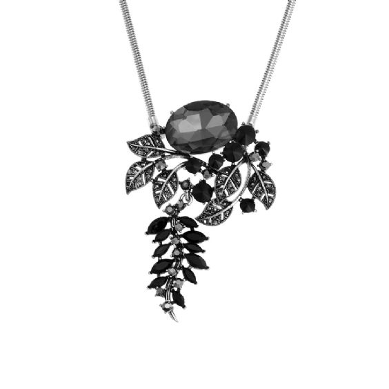 Necklace Silver Couture  | Anna Lou of London  #annalouoflondon