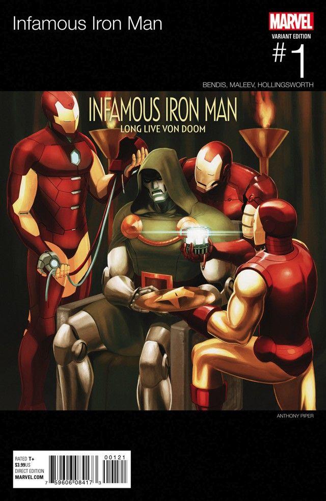 Marvel, завязывай! Соктября Железным Человеком станет Доктор Дум…