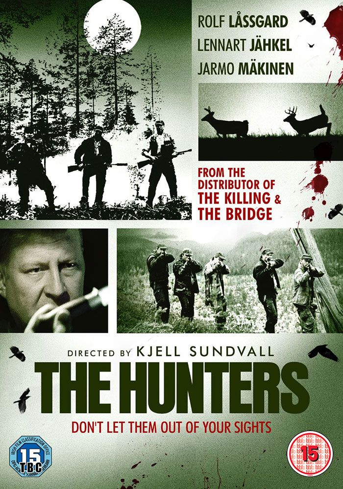 The Hunters, a tense and highly charged crime thriller that sees two brothers reunited at a funeral following years of separation. The returning brother, now a successful detective based in Stockholm, is intrigued by a local case involving the killing of reindeer. His interest in the case leads to an unwelcome discovery.... Great film!