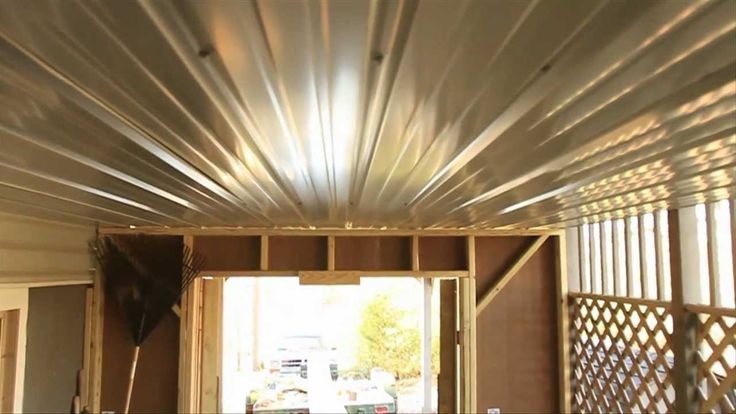 Cheap under deck ceiling the home mi casa pinterest for Cheapest way to roof a house
