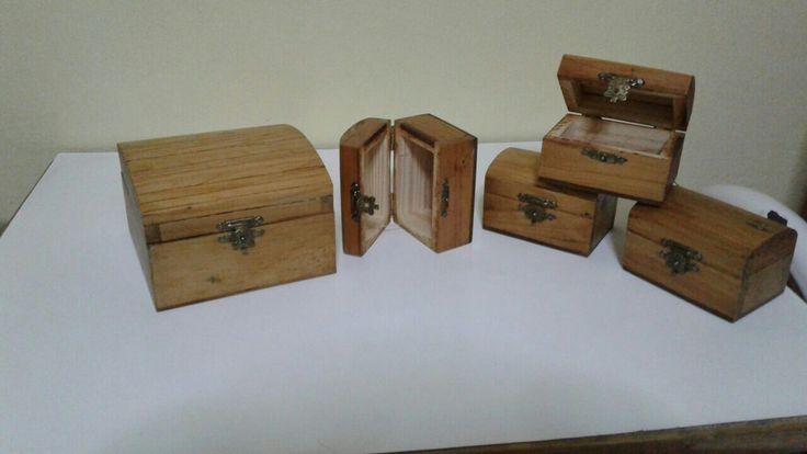 cofres de madera. alakero , souvenirs..