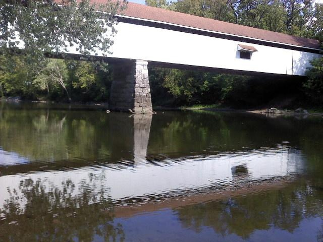 Potter's Covered Bridge at Noblesville, IN