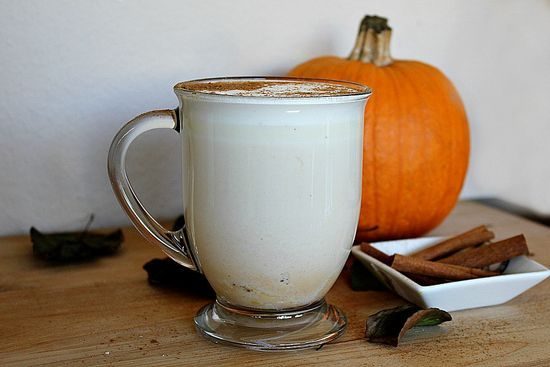 ... for sharing your Pumpkin Pie White Hot Chocolate recipe with us