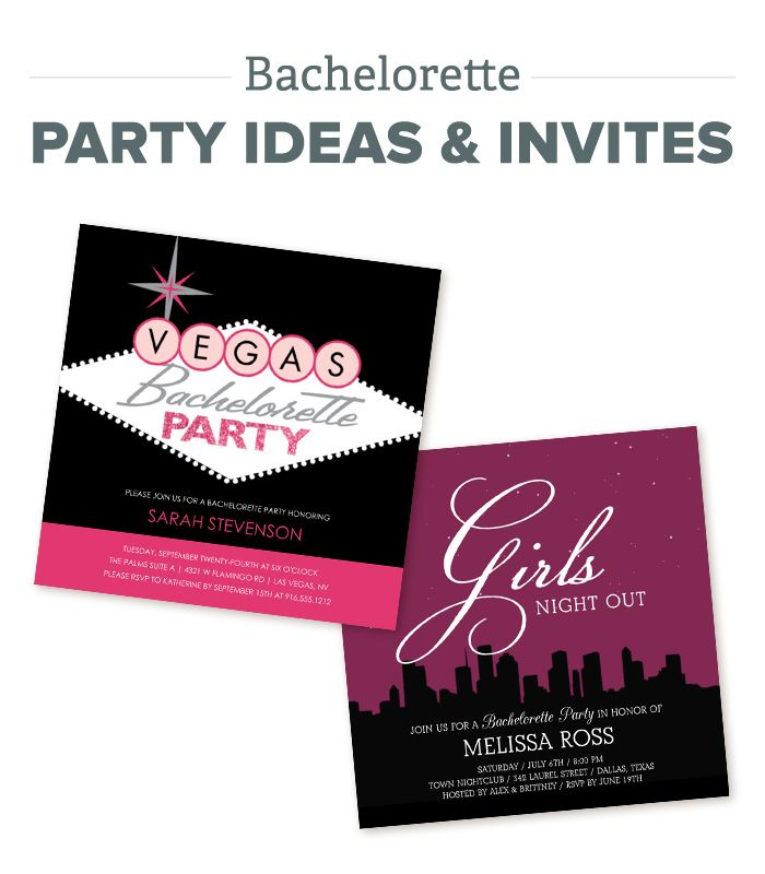 Bachelorette Party Ideas and Invitations 41 best